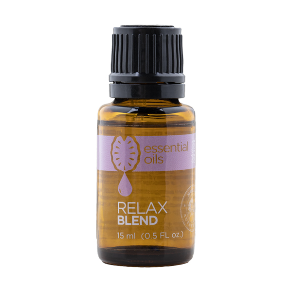 Essential Oils Relax Blend Photo