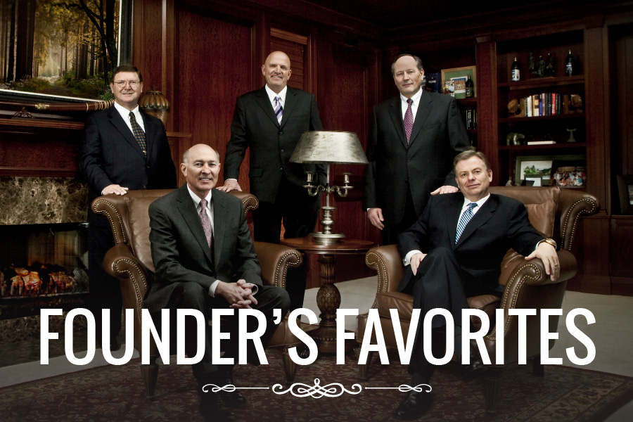 Founder's favorites