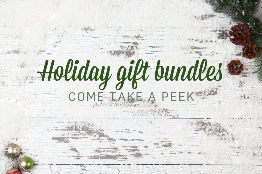 Holiday gift bundles