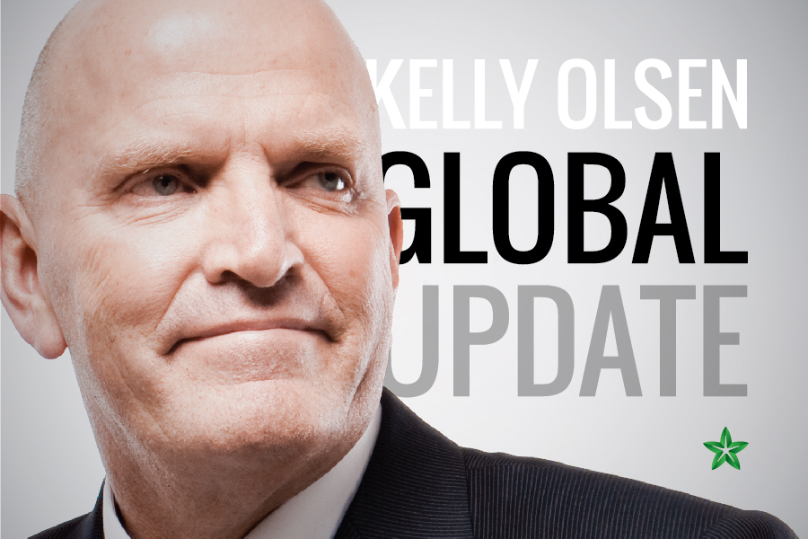 Kelly Olsen global update
