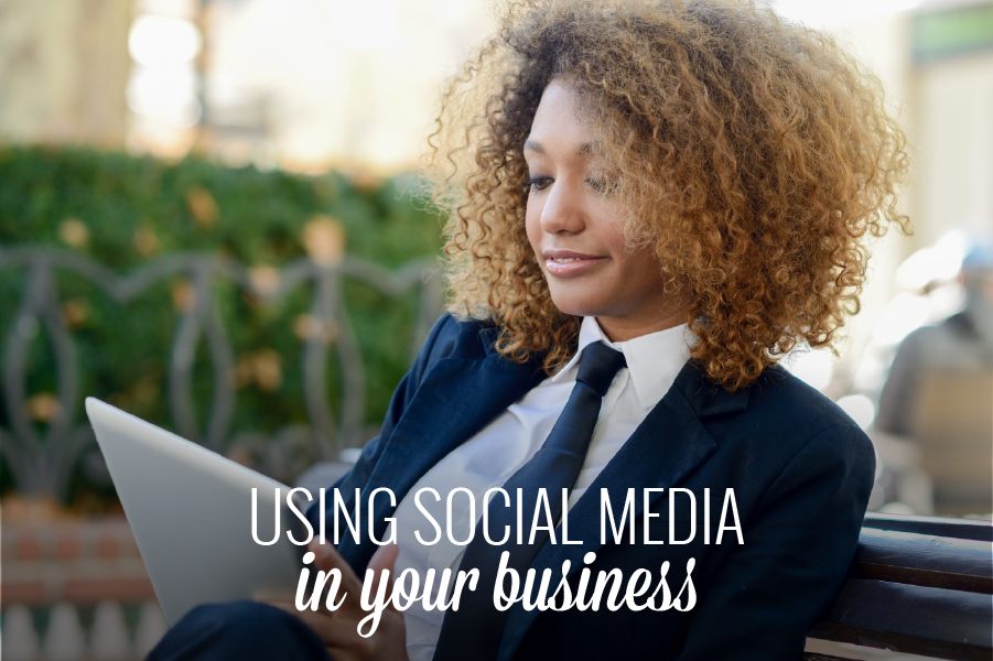 Using social media in your business