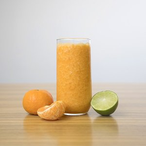 Tangerine honey smoothie