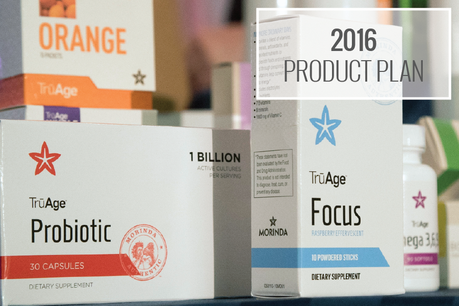 2016 product plan