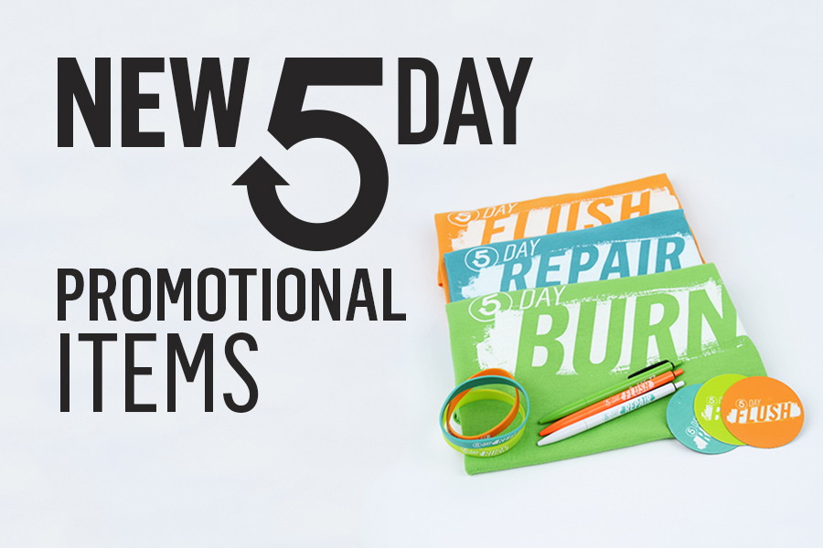 5-Day promotional items