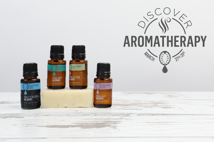 Discover Aromatherapy sales event