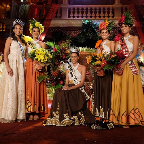 Matahari Bousquet is crowned Miss Tahiti 2019 article image