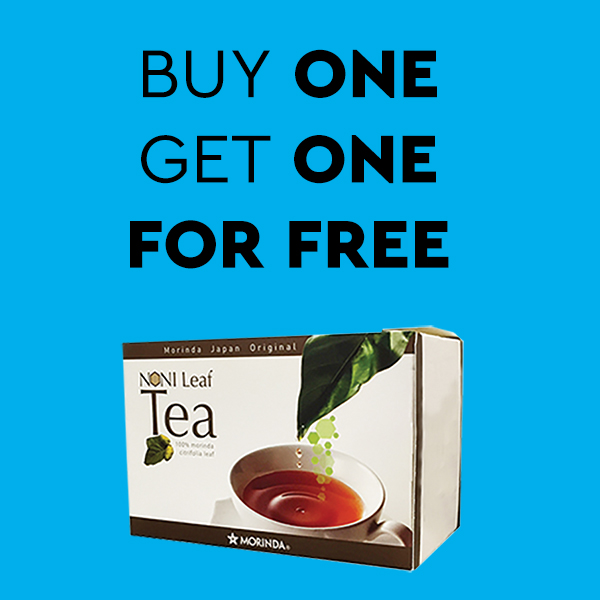 Buy one ‑ get one free: Noni Blättertee Photo