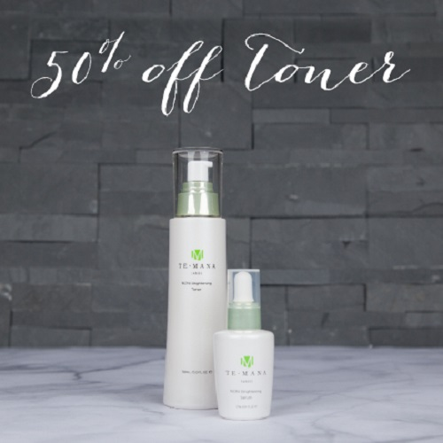 Starting today, get 50 percent off a Noni Brightening Toner article image