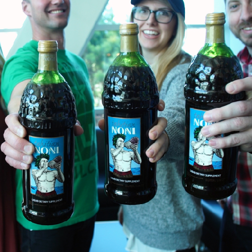 Feast your eyes on our new Tahitian Noni Juice commercial article image