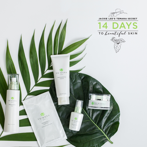 Complete Jackie Lee's 14-day challenge for free gifts and glorious skin! article image